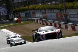 #55 Attempto Racing Audi R8 LMS: Steijn Schothorst, Kelvin van der Linde