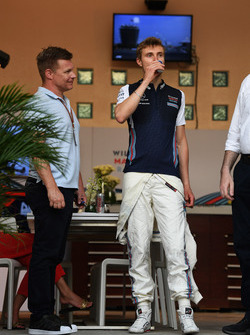 Mika Salo et Sergey Sirotkin, Williams