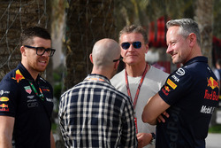 David Coulthard, et Jonathan Wheatley, team manager Red Bull Racing