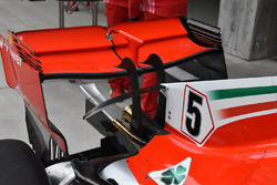 Ferrari SF71H rear wing detail