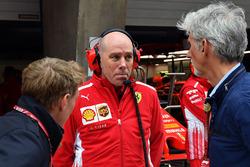 Simon Lazenby, Sky TV, Jock Clear, Ferrari Chief Engineer and Damon Hill, Sky TV