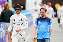 Nicolas Prost, Renault e.Dams, Nick Heidfeld, Mahindra Racing