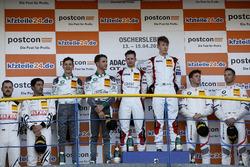 Podium Junior: Race winner #5 Phoenix Racing Audi R8 LMS: Philip Ellis, Max Hofer, second place #28 Montaplast by Land-Motorsport Audi R8 LMS: Sheldon van der Linde, Kelvin van der Linde, third place #42 BMW Team Schnitzer BMW M6 GT3: Mikkel Jensen, Timo Scheider