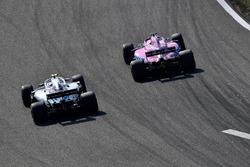 Ленс Стролл, Williams FW41, Серхіо Перес, Force India VJM11