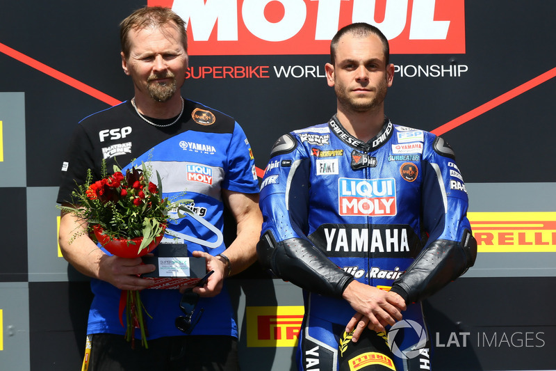 Podium : Sandro Cortese, Kallio Racing