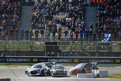 Petter Solberg, PSRX Volkswagen Sweden, Andreas Bakkerud, EKS Audi Sport