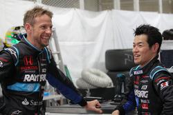 ジェンソン・バトン、山本尚貴:#100 RAYBRIG NSX-GT