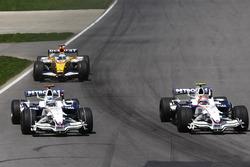 Роберт Кубица, BMW Sauber F1.08, Ник Хайдфельд, BMW Sauber F1.08, Фернандо Алонсо, Renault R28