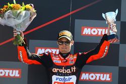 Podyum: 3. Chaz Davies, Aruba.it Racing-Ducati SBK Team