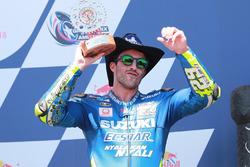 Подиум: Андреа Янноне, Team Suzuki MotoGP