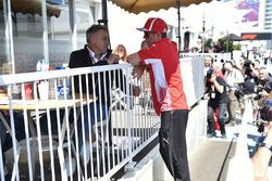 Kimi Raikkonen, Ferrari et Jean Alesi