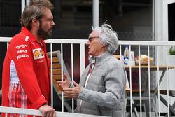 Bernie Ecclestone, and Gino Rosato, Ferrari