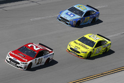 Paul Menard, Wood Brothers Racing, Ford Fusion Motorcraft / Quick Lane Tire & Auto Center Ryan Blaney, Team Penske, Ford Fusion Menards/Richmond Ricky Stenhouse Jr., Roush Fenway Racing, Ford Fusion Fifth Third Bank