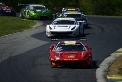 #61 R.Ferri Motorsport Ferrari 488 GT3: Toni Vilander, Miguel Molina