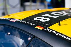 Автомобиль Porsche 911 RSR (№56) команды Team Project 1