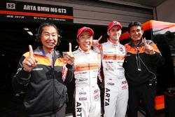 GT300 pole sitters #55 Autobacs Racing Team Aguri BMW M6 GT3: Shinichi Takagi, Sean Walkinshaw