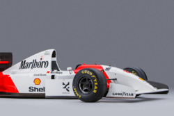 Auktion: McLaren MP4/8 von Ayrton Senna