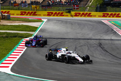 Sergey Sirotkin, Williams FW41, Brendon Hartley, Toro Rosso STR13