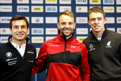 Press Conference, Bruno Spengler, BMW Team RBM, Jamie Green, Audi Sport Team Rosberg, Paul Di Resta, Mercedes-AMG Team HWA