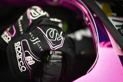 Handschuhe von Jack Harvey, Meyer Shank Racing with SPM Honda