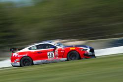#40 PF Racing Ford Mustang GT4: James Pesek