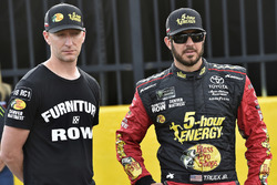Martin Truex Jr., Furniture Row Racing, Toyota Camry 5-hour ENERGY/Bass Pro Shops and Cole Pearn