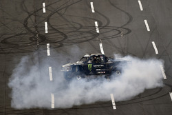 Monster signage, Kurt Busch, Stewart-Haas Racing, Ford Fusion Monster Energy
