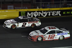 Brad Keselowski, Team Penske, Ford Fusion Discount Tire, Ryan Blaney, Team Penske, Ford Fusion Hawk/Carlisle