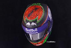 Helmdesign von Brendon Hartley