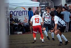 Charles Leclerc, Sauber and Alex Caffi