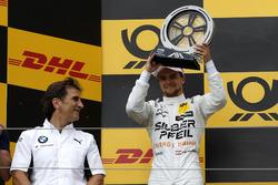 Podium: second place Lucas Auer, Mercedes-AMG Team HWA with Alex Zanardi, BMW Motorsport