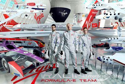 Presentación de pilotos de Virgin Racing