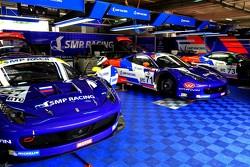 SMP Racing Ferraris