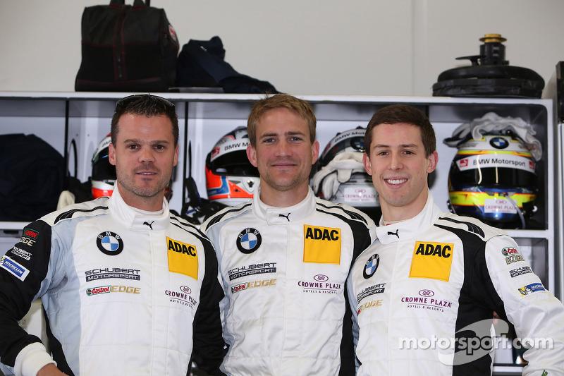 Dirk Muller, Dirk Werner, Alexander Sims, BMW Sports Trophy Schubert Takımı