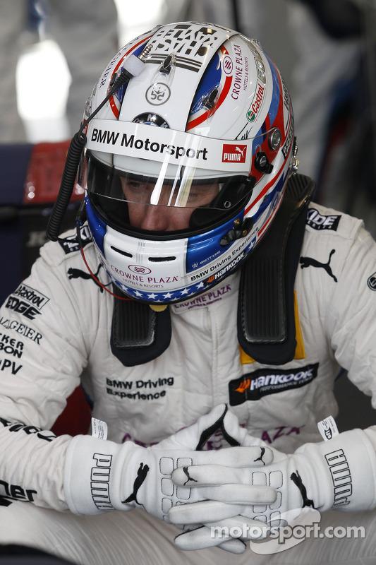 Pitstop de Robert Wickens, Mercedes AMG DTM-Team HWA Mercedes DTM AMG C-Coupé