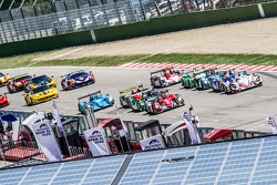 Largada: #38 Jota Sport Zytek Z11SN Nissan: Simon Dolan, Harry Tincknell, Filipe Albuquerque lidera
