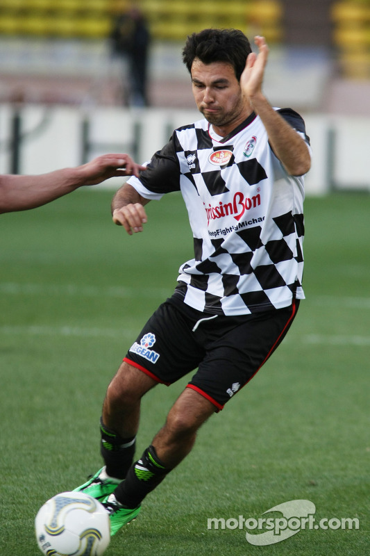 Sergio Perez, Sahara Force India F1 na charity football match