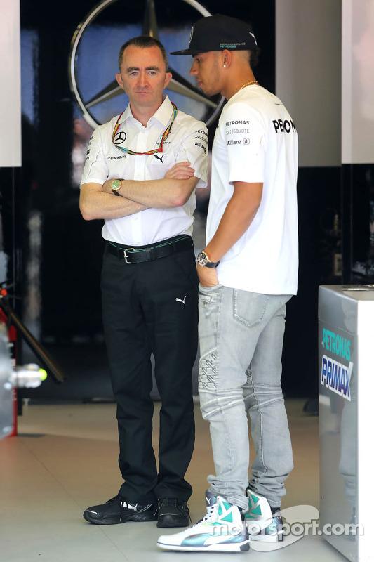 Paddy Lowe, Mercedes AMG F1, Technikchef