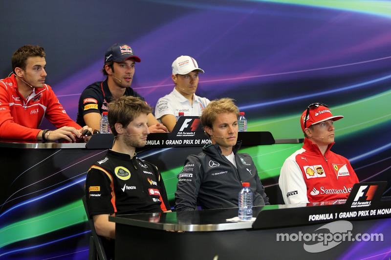 La conferenza stampa FIA