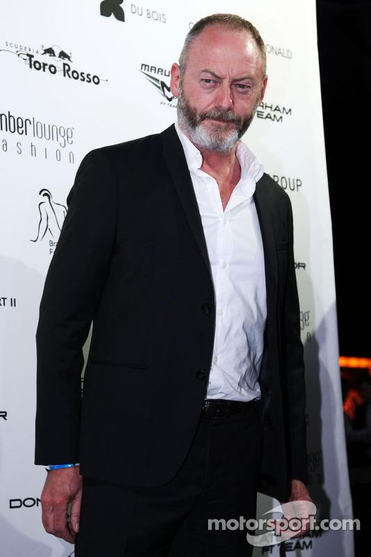 Liam Cunningham, Ator, no Salão Amber Fashion Show