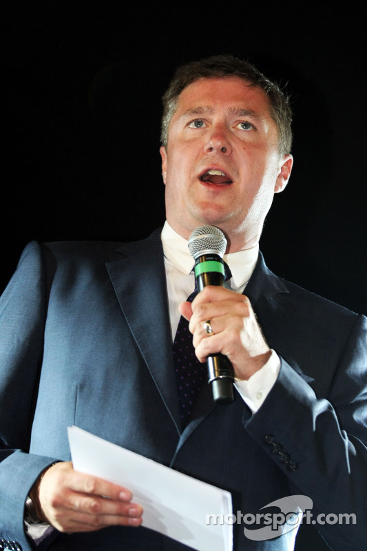 David Croft, Sky Sports Commentator at the Amber Lounge Fashion Show
