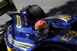 Third place Felipe Nasr