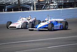 Klasik araçlar Indianapolis Motor Yarış Pisti'nde