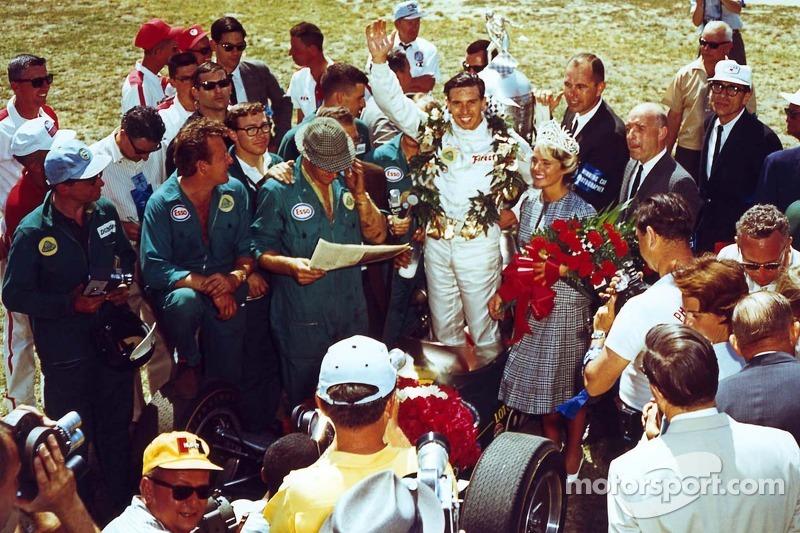 500 Miles d'Indianapolis 1965 : le vainqueur Jim Clark