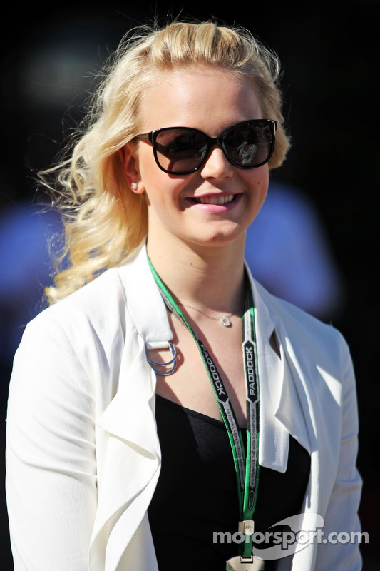 Emilia Pikkarainen, Swimmer, girlfriend of Valtteri Bottas, Williams
