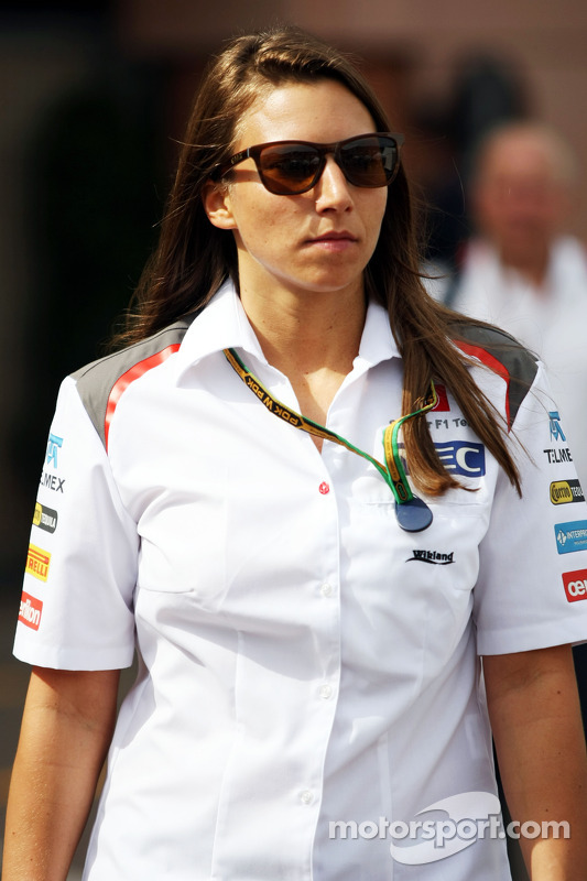 Simona de Silvestro, Sauber F1 Team piloto de testes