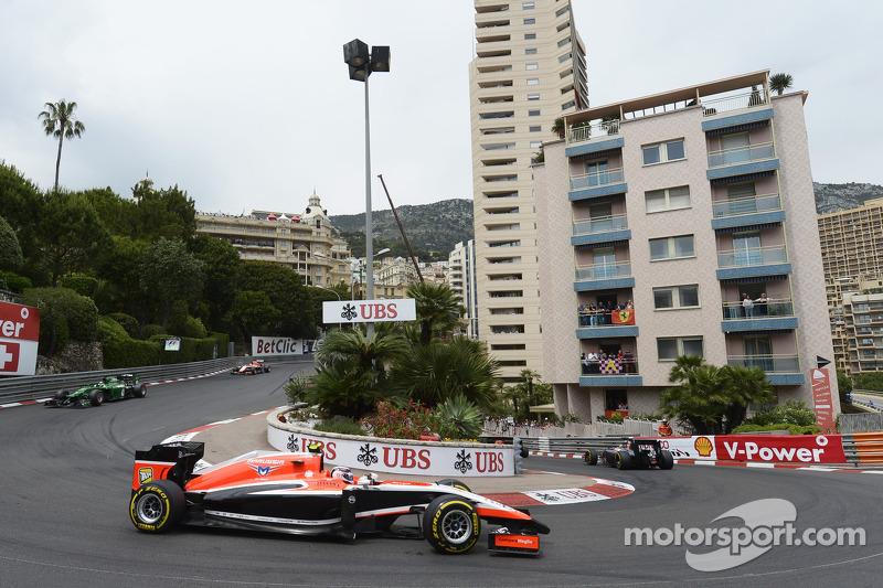 Макс Чилтон. ГП Монако, Воскресная гонка.