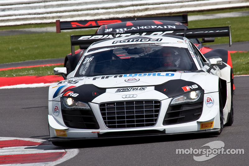 #26 Sainteloc Racing 奥迪 R8 LMS Ultra: 爱德华兹·桑德斯托姆, 斯蒂芬·奥尔特利, 格里高利·吉尔维