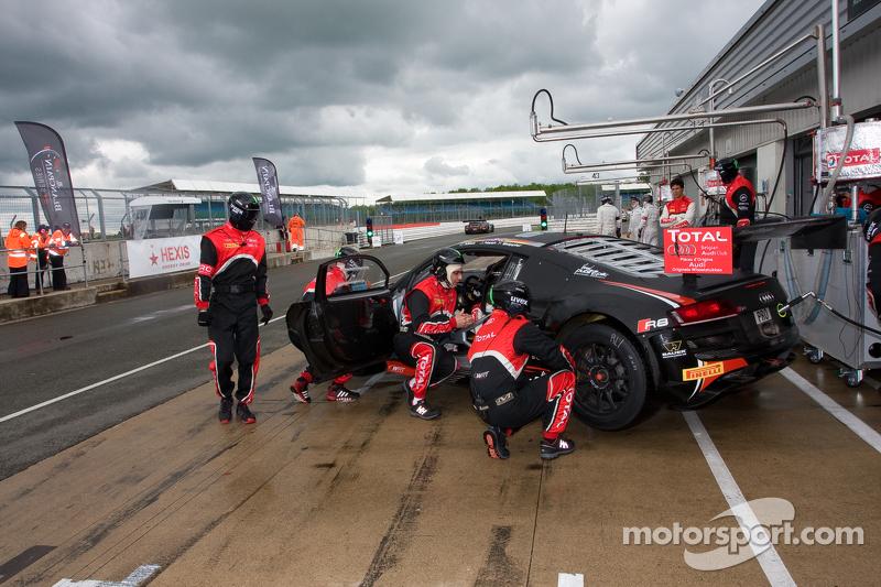 #3 Belgian Audi Club Team WRT Audi R8 LMS Ultra: James Nash, Frank Stippler, Christopher Mies