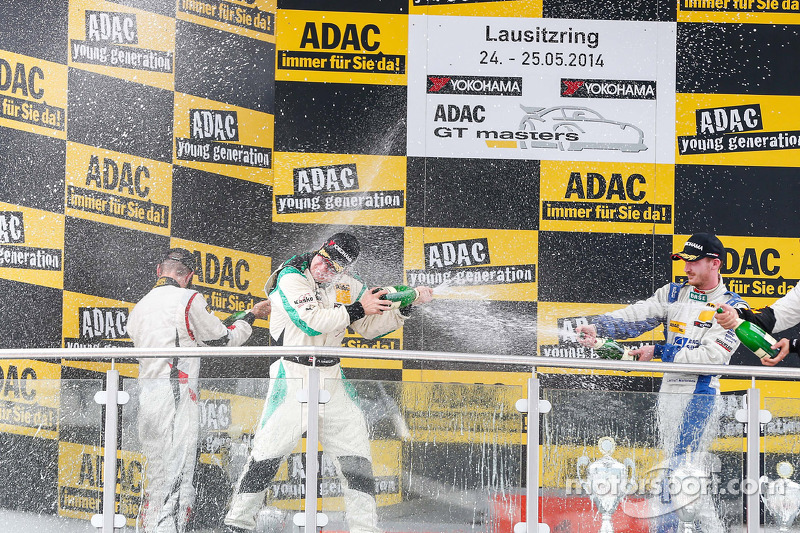 Podio Gentlemens: vincitori Herbert Handlos, Alfred Renauer, secondo posto di Toni Seiler, Jeroen Bl